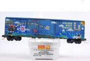 Micro-trains 03044190 N Scale Golden West Service Weathered 50and039 Box Car Ln/box