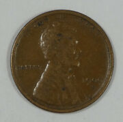 1909-s Lincoln/wheat Ears Reverse Cent Very Fine 1c