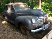 1941 Chevy Master Deluxe - Barn Find