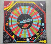 Rare Vintage 1946 Interplanetary Game Board Only By Neil R Jones Scifi Art Space