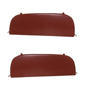 1951 1952 Chevrolet Fender Skirts Steel 1 Pair New With Hardware