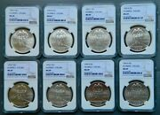 Eight 1995-d Silver Olympics Cycling Commemoratives 1 Ngc Ms 69 Mintage 19662