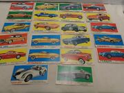 Topps Non-sports 1961 Sports Cars Cards Lot Of 22 Good Shape Not Perfect