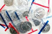 20 Coin Lot 1981 P And D Kennedy Half Dollars Uncirculated In Cellos 50c Us Coins