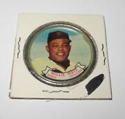 1964 Topps Baseball Coin Pin 80 Willie Mays San Francisco Giants Excellent