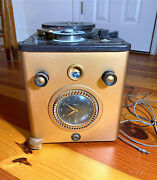 Vintage Telechron Sears Roebuck Co Tube Wire Recorder For Parts / Repair