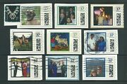 Selection Of 9 Each Discontinued 37cent Stamps.com Personalized Cvp Stamps