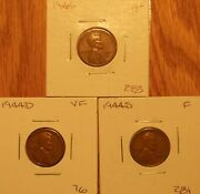 Lincoln Wheat Pennies 1944 P-d-s