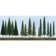 Jtt Scenery Products 92117 N/ho 2.5 - 6 Pine Conifer Spruce Pack Of 45