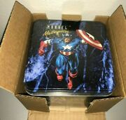 1992 Skybox Marvel Masterpieces Factory Sealed Tin Trading Card Set /35000 Qty