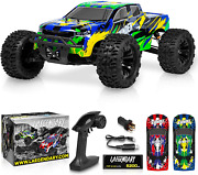 110 Scale Brushless Rc Cars 65+ Km/h Speed - Boys Remote Control Car 4x4 Off Ro