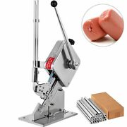 2 Boxes Of Clips8000pcs U-shape Food Sausage Manual Portable Clipping Machines