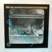 Ww2 Home Front Afs Instruction Glass Slide Shed Prepared For Practice Fire
