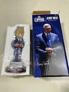 Jerry West Los Angeles Clippers Cnb Bank Basketball Nib Promo 2019 Bobblehead