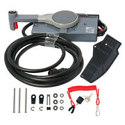 Champion Side Mount Remote Control Box With 10 Pins Wire Harness And Cable 16ft
