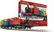Hornby Santa's Express Christmas Toy Train Set R1248 Red Blue And Yellow