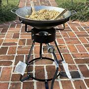 King Kooker 24wc 12 Portable Propane Outdoor Cooker With Wok, 18.5 L X 8 H X