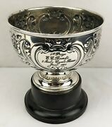 1911 Sterling Silver Trophy New York State Bicycle Race Edward C. Bendi 596g