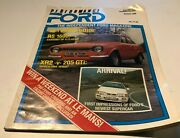 Performance Ford Magazine Vol1 Issue 11 March 1988 Mk1 Escort Rs 1600 Feature