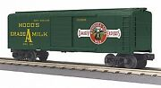 Mth 30-74863 O Hoodand039s Dairy Rounded Roof Boxcar Nib