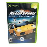 Need For Speed Hot Pursuit 2 Microsoft Xbox 2002 - Tested And Working