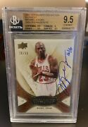 2009 Michael Jordan Exquisite Collection Buyback 16/16 Bgs 9.5/10 Auto Gold /50
