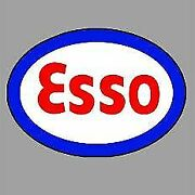 Miller Engineering 55050 O Esso Double-sided Rotating Sign