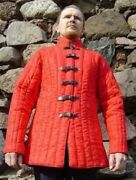 Medieval Gambeson Thick Padded Armour Play Movies Theater Sca ||yew Year Gift