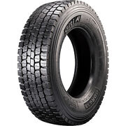 4 Tires Giti Gdr638 245/70r19.5 Load H 16 Ply Drive Commercial