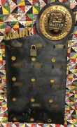 Antique Master Lock Company Padlock Old Country Store Display Milwaukee Wi