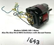 New Lionel Parts - Motor For Gg-1 Electric
