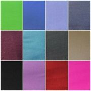 Plain 100 Cotton Drill Twill Wide Clothing Craft Upholstery Fabric Roll