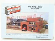 Ho Scale Walthers Cornerstone Series 933-3015 O.l. King And Sons Coal Yard Kit
