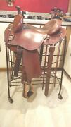 Clinton Anderson 15 Aussie Saddle By Martin. Great Used Condition.