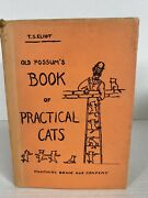 T.s.eliot 1939 1st Ed Old Possums Book Of Practical Cats Harcourt Brace Rare