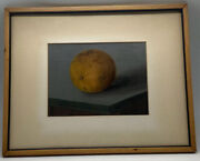 Original Antique Still Life Painting Signed Ophelia Merle And Dated 1862
