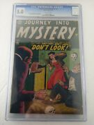 Journey Into Mystery 2 Cgc 5.0 1952 O/w Pages Gene Colan