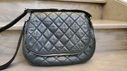 Jumbo Quilted Cocoon Messenger Bag Limited Edition Auth
