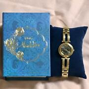 Wicca Disney Collectionaladdin Wristwatch Limited Edition