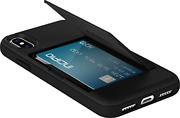 Incipio Iph-1649-blk Apple Iphone X Stowaway Credit Card Hard Shell Case With -