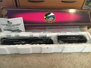 Mth O Scale Challenger Locomotive With Tender Rio Grande 4-6-6-4