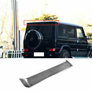 Fit For Benz G-class 2013-2018 Dry Carbon Fiber Roof Trunk Spoiler Wing Flap 1pc