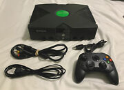 Fully Loaded 2tb Original Xbox Console Cords And Controller Refurbished Mod