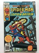 Marvel Team Up 65 Fn- Spiderman And Captain Britain Mark Jewelers Insert