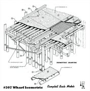 Campbell Scale Models 307 Ho Wharf