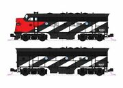 Kato 106-0425-dcc N Cn Emd F7a And F7b Diesel Locomotive With Dcc Set Of 2