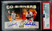 Alex Rodriguez Derek Jeter 2000 Co-signers. Pop One Only Two Graded Higher.