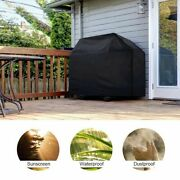 170cm Waterproof Bbq Covers Black Heavy Duty Barbecue Smoker Grill Protectors