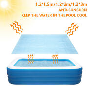 Swimming Pool Solar Rectangle Cover Heat Retaining Waterproof And Dustproof