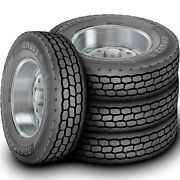 4 Tires Roadmaster By Cooper Rm852 Em 295/75r22.5 G 14 Ply Drive Commercial